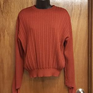 Moussy knit sweater top